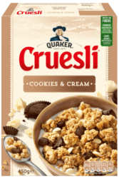 Quaker Cruesli® Cookies & Cream